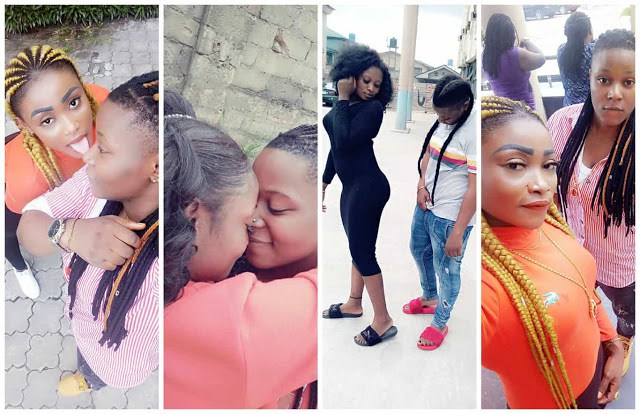 Photos Of Warri Based Lesbian Couple Flaunting Their Relationship