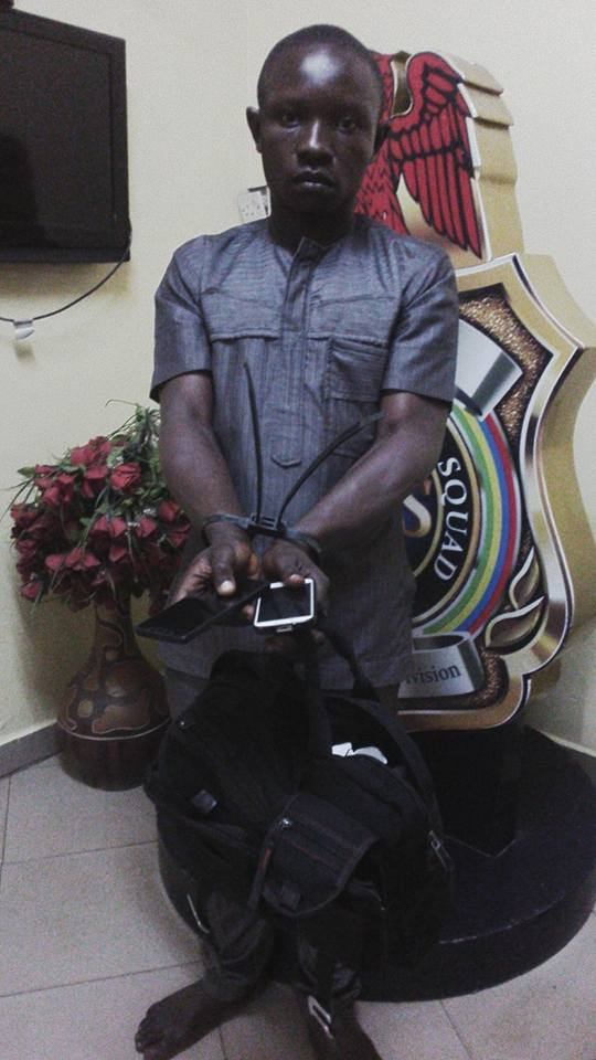 Robbers Who Dress In Suit Nabbed | Photos