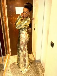 TBoss Steps Out Without An Underwear For AFRIMA 2017 (Photos).