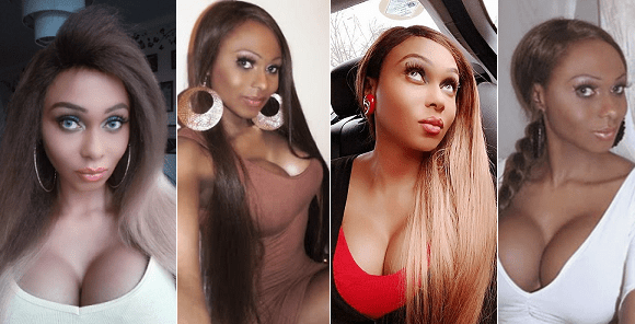Nigerian Transgender, Miss Sahara Slams Elderly Man, Says 'I Look Better Than Your Mother'