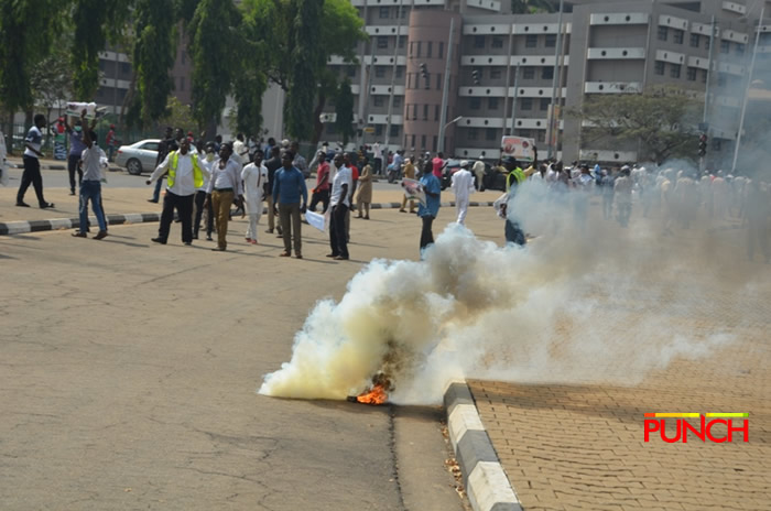 Channels TV Reporter Hit By Bullet As Police, Shiite Clash In Abuja