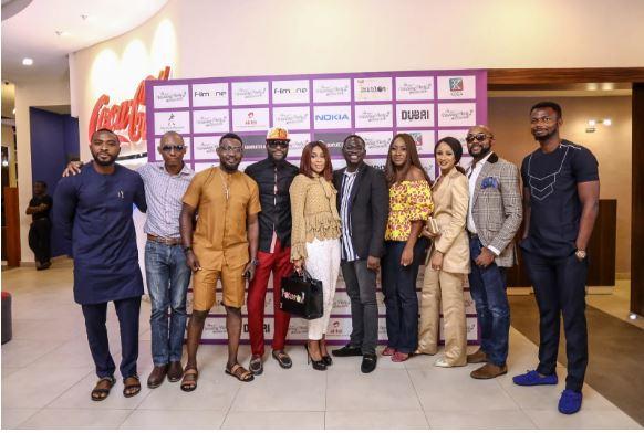 Photos: Mo Abudu, Banky W, Adesua, Eyinna, Ikechukwu, Frank Donga, AY, Ireti Doyle, EmmaOhMyGod attend the exclusive partner screening of 'The Wedding Party 2'