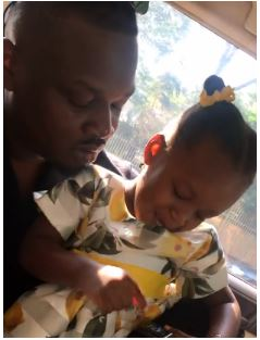 Dr Sid and Simi Esiri attend their daughter's first Christmas carol at school together (photos)