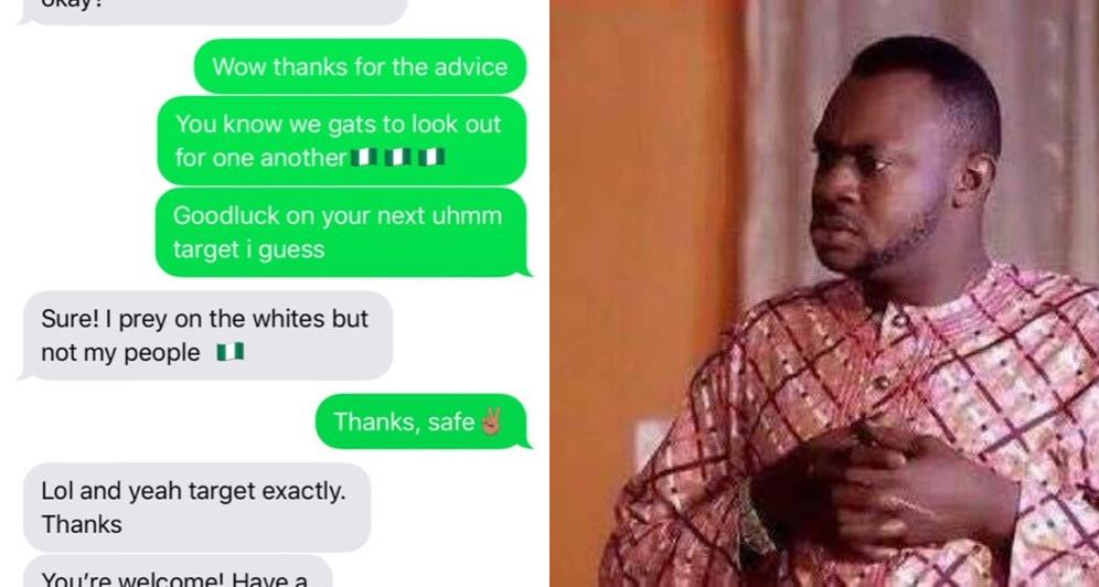 Report Nigerian Scam