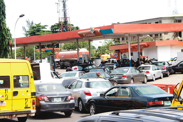 Image result for fuel scarcity in nigeria 2017