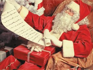 Photo of a father Christmas