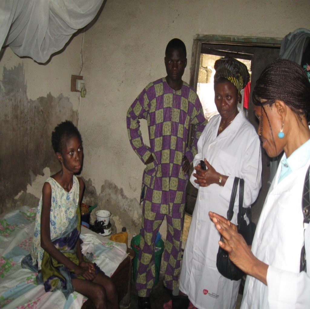 Image result for pictures of nigerians of suffering from aids