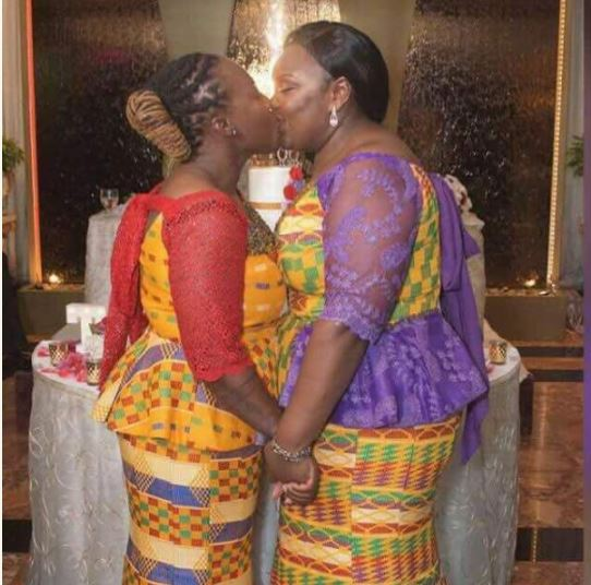 2 Ghanaian Women Wed Each Other In Holland Photos