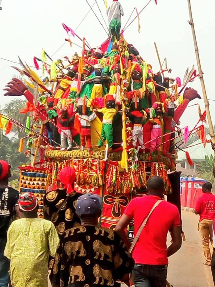 'Biggest Masquarede' Appears As Last Ofala Festival Is Celebrated | Photos