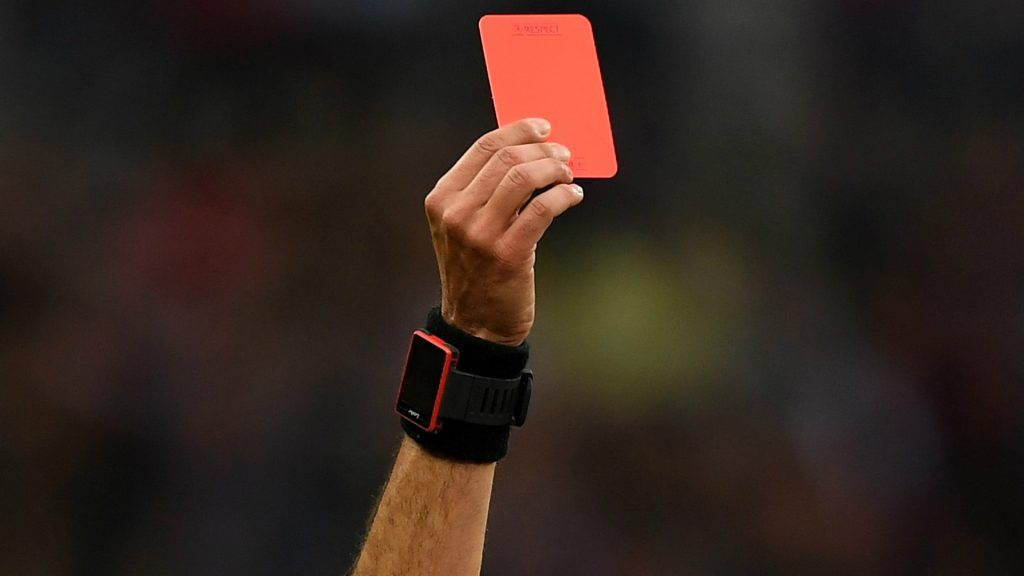 red card movement