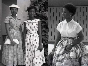 Nigerian Old School Fashion School Style