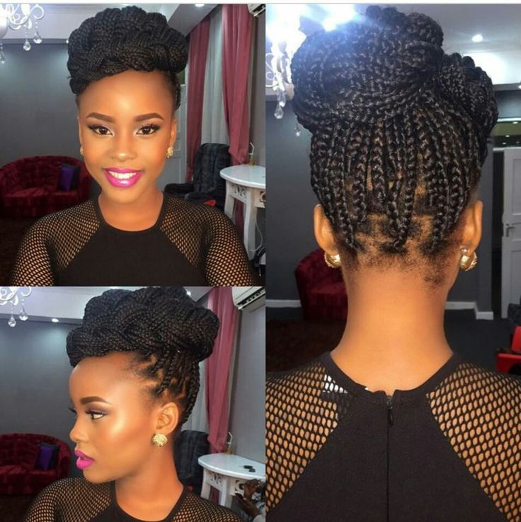 how to style your hair with braids fashion friday s how to style braids information nigeria 6803