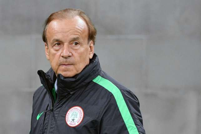 Super Eagles coach Gernot Rohr