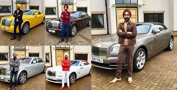 What Cars Qualify For Uber >> Meet billionaire, Reuben Singh, who matches color of his turban with a matching Rolls Royce ...