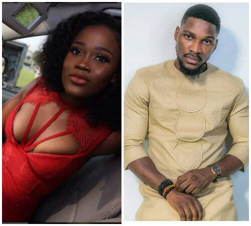 BBNaija; You Won't Beleive What Tobi Bakre Was Spotted Doing To Cee c