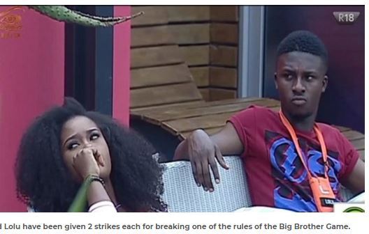 BBNaija: Lolu & Cee-c Given Two Strikes Each, To Be Punished (Read FULL Gist)