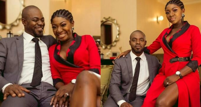 Yvonne Jegede Praises Husband As They Celebrate Their 1st Wedding Anniversary