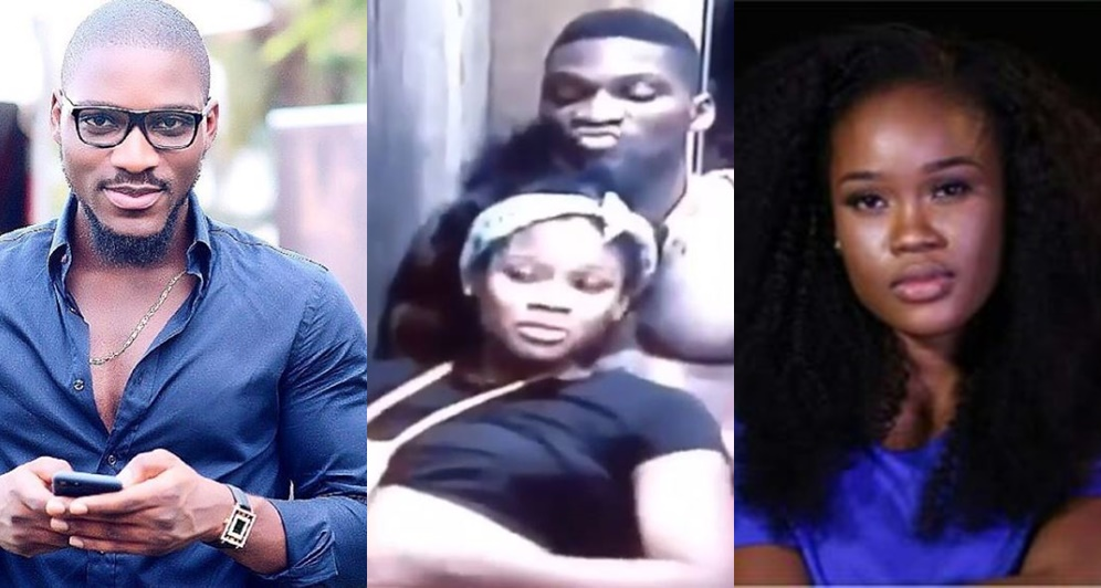 #BBNaija: Tobi Caught Mocking Cee-C During A Conversation (Video)