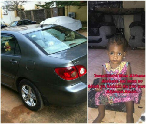 So Sad! Man Mistakenly Kills Daughter While Reversing His Car In Katsina