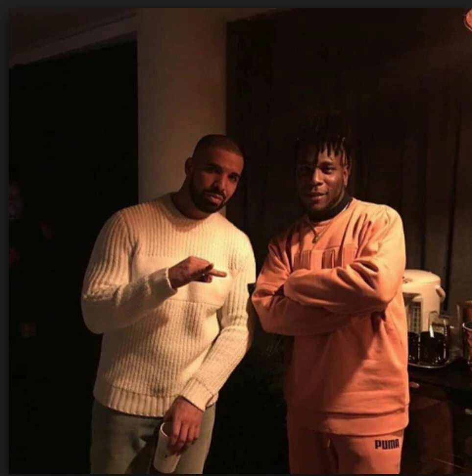Twitter Drags Drake For Stealing From Burna Boy