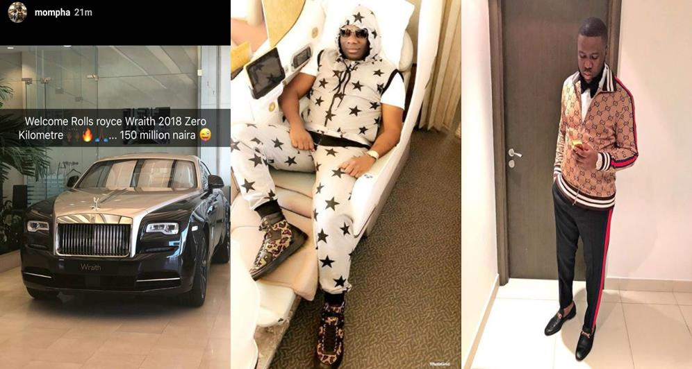 Hushpuppi Replies Mompha After Shade Over His N150million