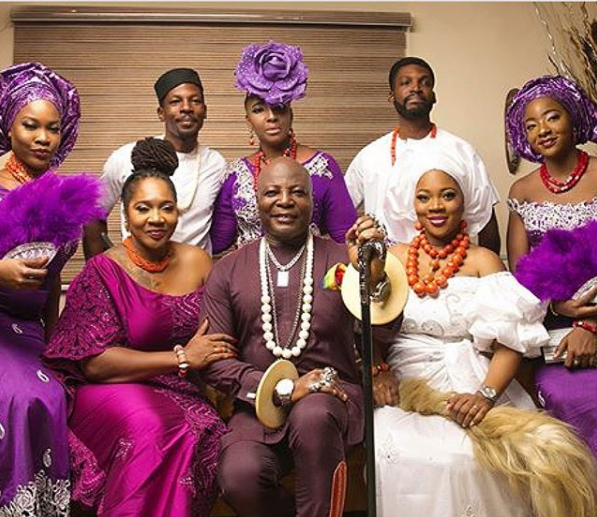 My Simple Family! Charly Boy releases beautiful photo with his wife and children