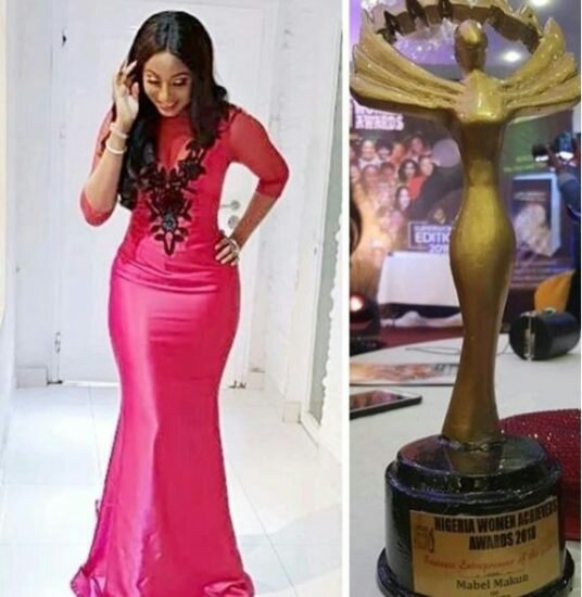 Comedian, AY' wife wins Entrepreneur of the year award
