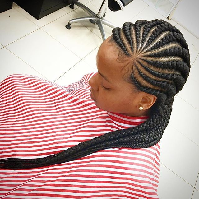 10 Ghana Weaving All Back Styles Bound To Make You The Centre Of Attention Information Nigeria