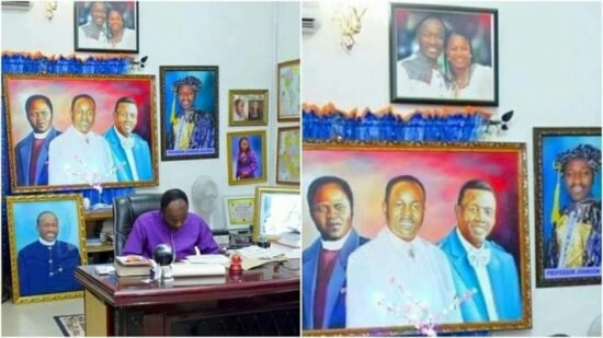 A Sneak Peek Into The Office Of Apostle Johnson Suleman