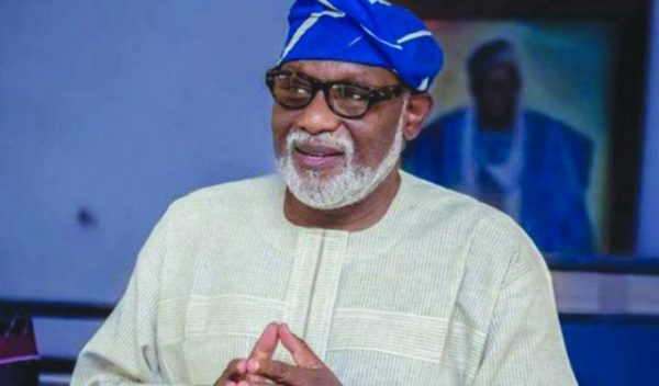 Move To Amend VAT Law To Favour FG Will Fail, Says Akeredolu