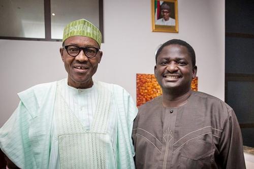 Femi Adesina, Buhari