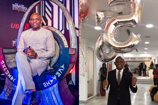 Nigerian Billionaire, Tony Elumelu Celebrates His 55th Birthday In Style (Photos)