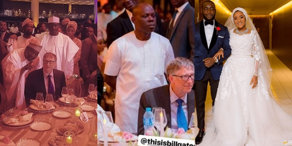 Photos of Bill Gates at the wedding of Aliko Dangote's ...