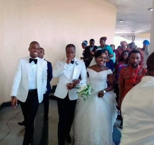 Rev. Edet Who Resigned As Catholic Priest Marries His Wife