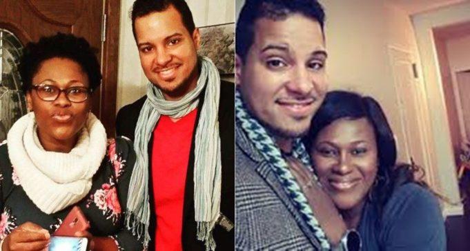 Uche Jombo and her husband