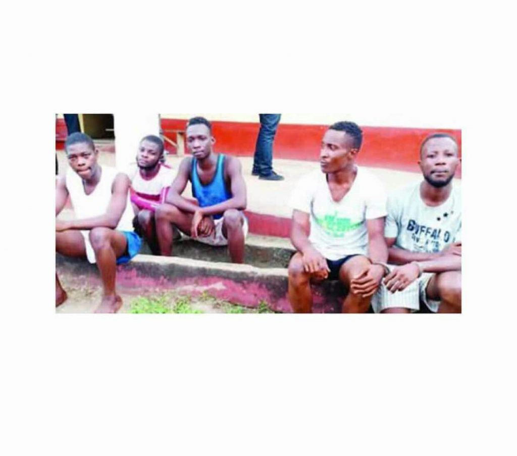 Yahoo Boys Who Carry Charms Arrested with Mercedes Benz, Codeine & ATM cards in Calabar (photos)