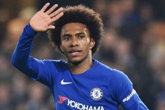 Willian To Be Given Number 10 Shirt At Chelsea After Eden Hazard's Move To Real Madrid