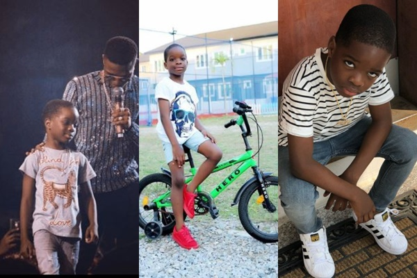 Wizkid and his son