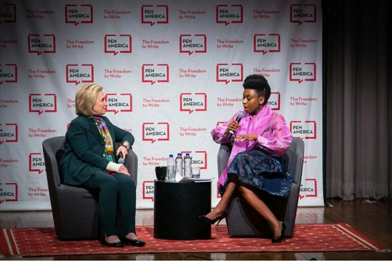 Chimamanda Ngozi Adichie Fires Back at Folks Who Criticised Her for Interrogating Hillary Clinton
