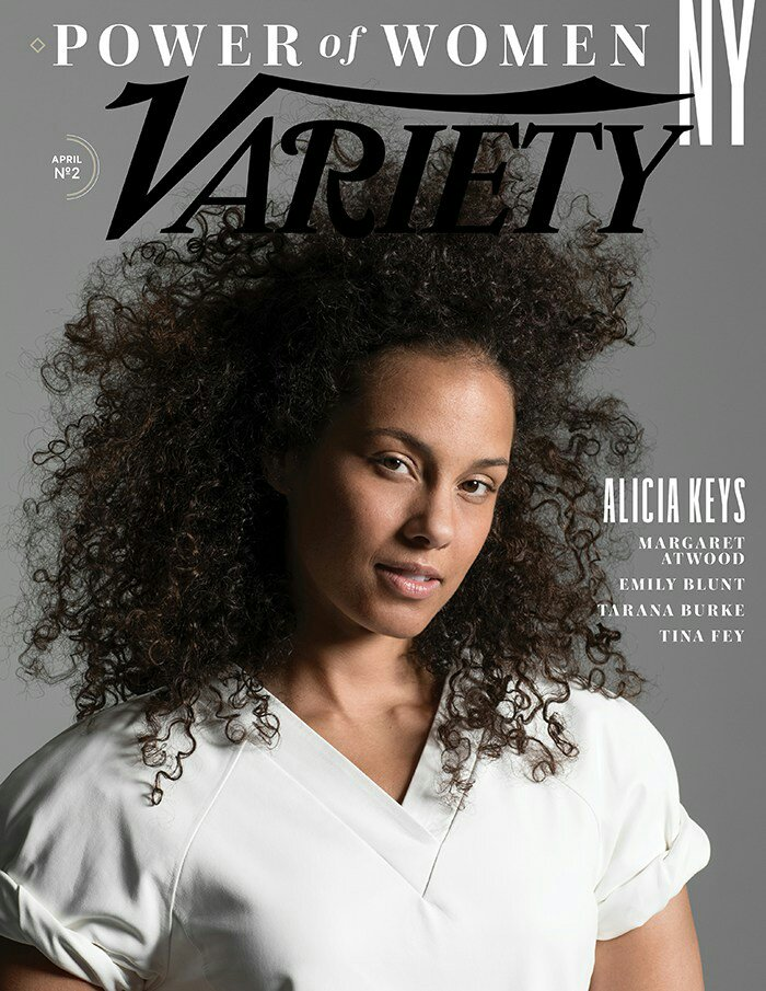 Alicia Keys is beautiful on the cover of Variety Magazine