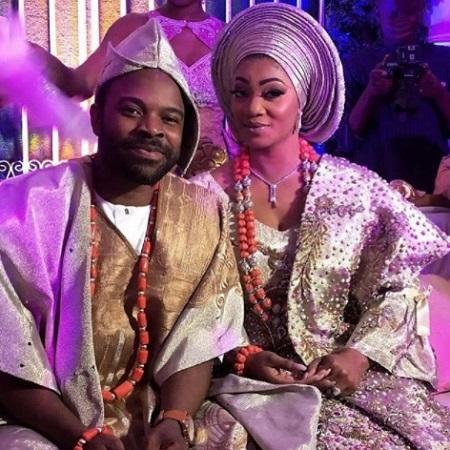 Gabriel Afolayan and his wife, Adebanke