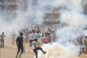 Shiite protesters
