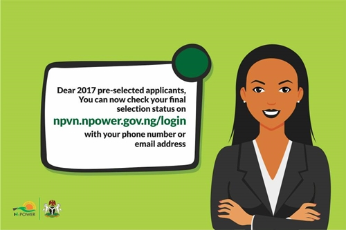 N-Power Releases Names Of Successful 2017 Applicants, Lists Steps To