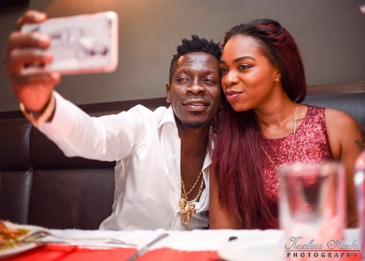 Image result for shatta wale and shatta michy