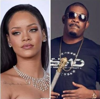 Rihanna and Don Jazzy