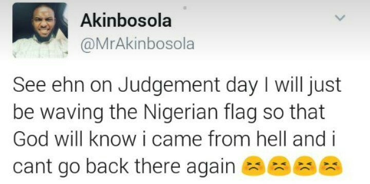This Tweet About Nigeria And Judgement Day Will Crack You Up