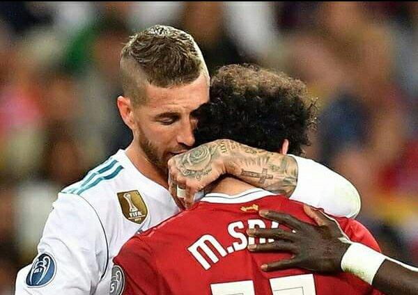 The Message Sergio Ramos Sent To Salah That Has Got People Talking