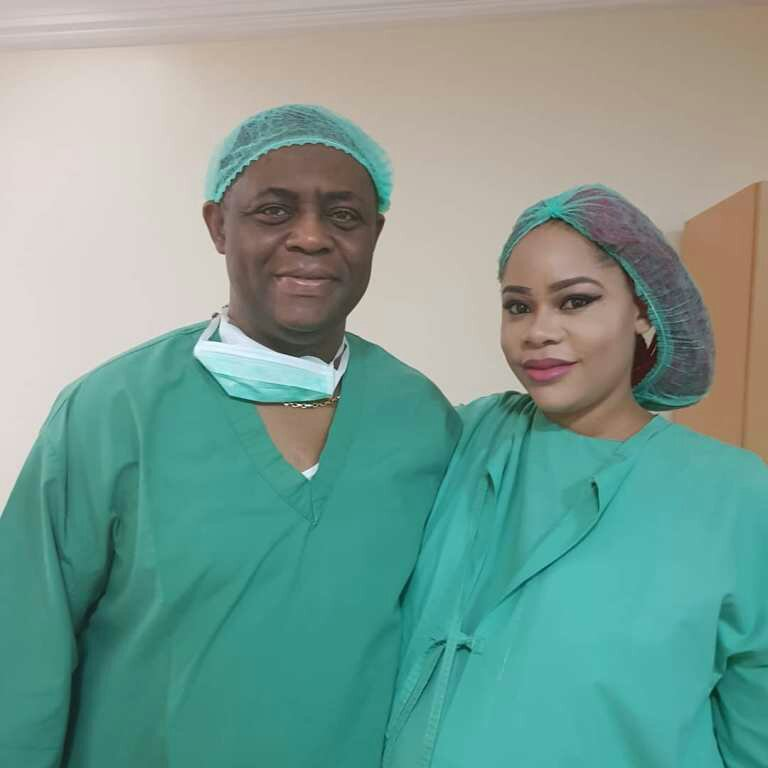 Fani Kayode's Wife Delivers Triplet, All Boys