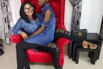 Mercy Aigbe and Daughter, Michelle