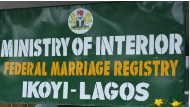Ikoyi Marriage Registry; Federal Government Reacts Over High Court Report